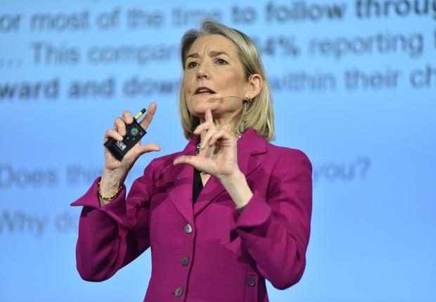 Amy Edmondson, professora de liderança e inovação na Harvard Business School (Foto: Divulgação/HSM)