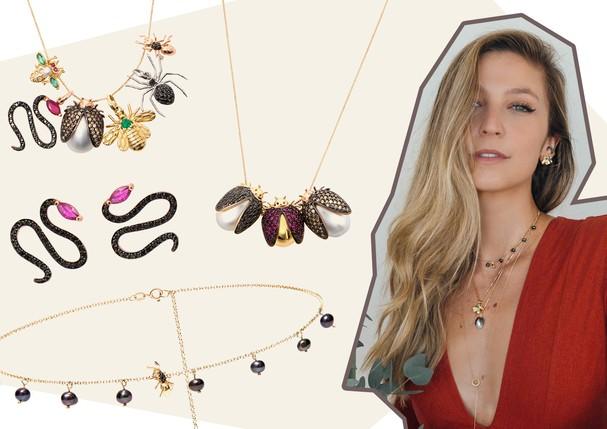 Carolina Neves + Luisa Meirelles: parceria fashion (Foto: Arte Vogue Online)
