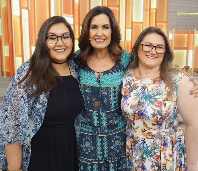 Convidadas que participaram do programa (Foto: Juliana Hippertt/Gshow)