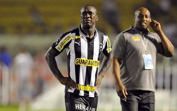 Seedorf choro Botafogo campeão carioca 2013 (Foto: Satiro Sodré / Agif)