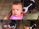 Luana Piovani posta foto de cão dando lambida na filha e divide opiniões