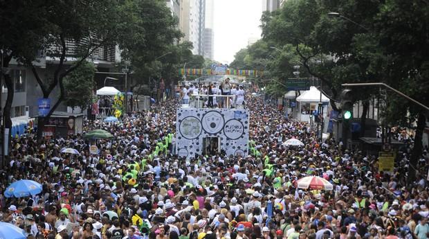Para vendedores ambulantes, Carnaval não está sendo um sucesso de vendas (Foto: Reprodução/Agência Brasil)