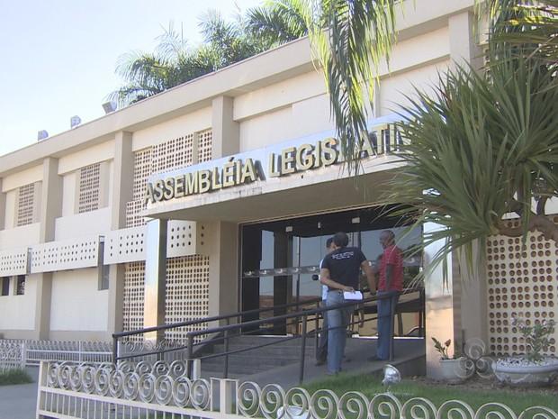 Assembleia Legislativa, em Porto Velho (Foto: Reprodução/TV Rondônia)