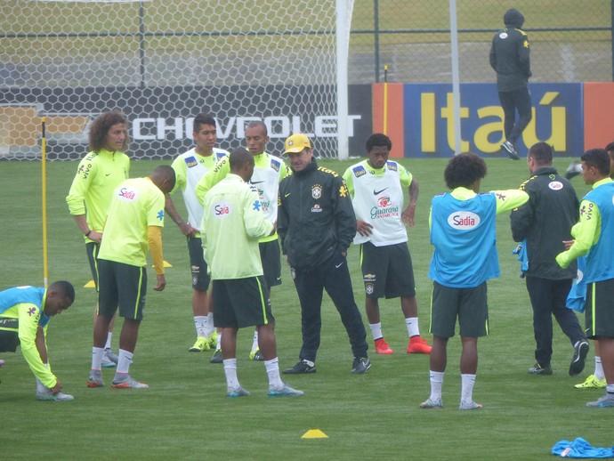 Treino Seleção (Foto: Richard Souza)