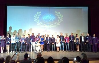 Emoção e lágrimas marcam a 22ª edição do Troféu Romulo Maiorana