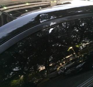 Carro do presidente do Palmeiras, Paulo Nobre (Foto: Ana Thais Matos / Rádio Globo)