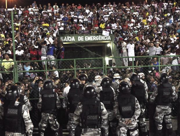 Torcida Bahia e Santos (Foto: Mauro Akin Nassor / Agência estado)