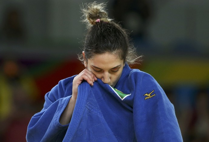 Mayra Aguiar, medalha bronze (Foto: Reuters)