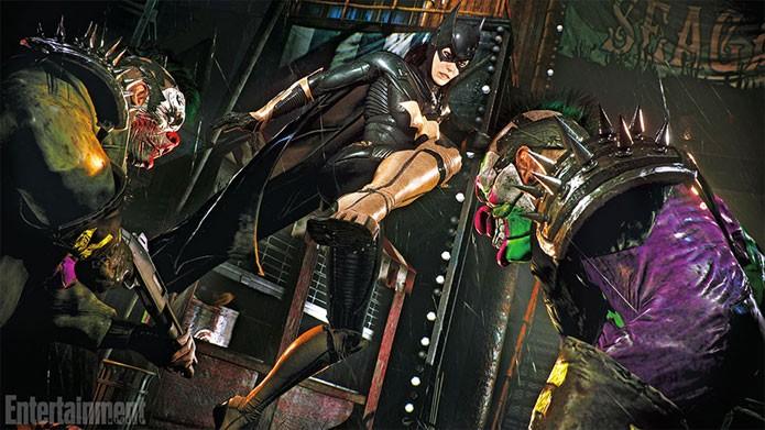 Arkham Knight tem DLC com história no passado da Batgirl (Foto: Reprodução/Entertainment Weekly)