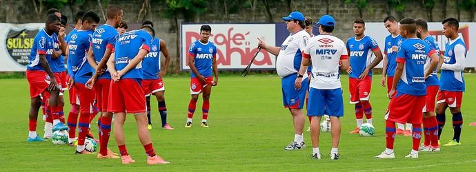 Bahia treino elenco Fazendão (Foto: Felipe Oliveira / Divulgação / E. C. Bahia)
