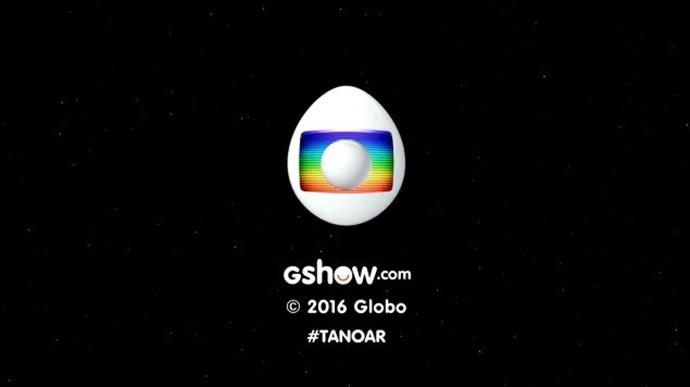 Forma arredondada vira um ovo (Foto: TV Globo)