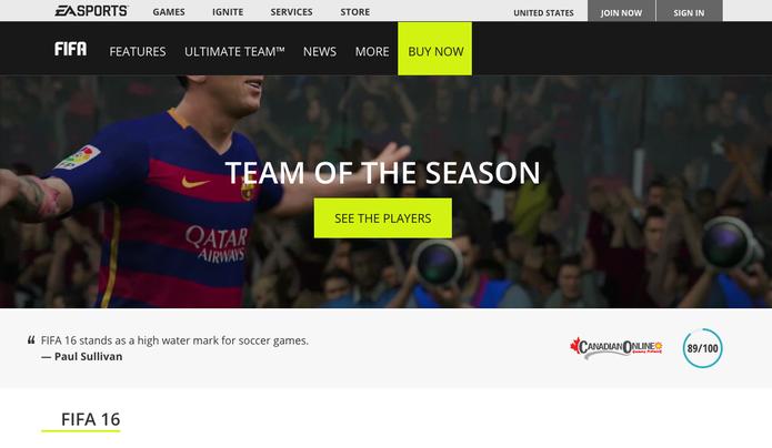 Aprenda a comprar e vender jogadores do Ultimate Team pelo Web App do Fifa 16 (Foto: Reprodução/Murilo Molina)