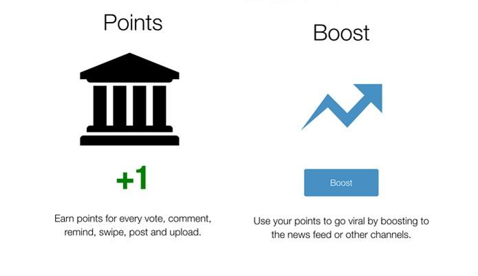Acumule pontos e promova seus posts na Minds (Foto: Reprodução/Minds)