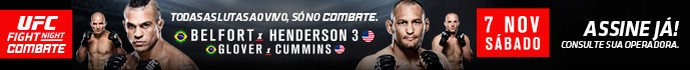 Header UFC Belfort Henderson (Foto: Editoria de arte)