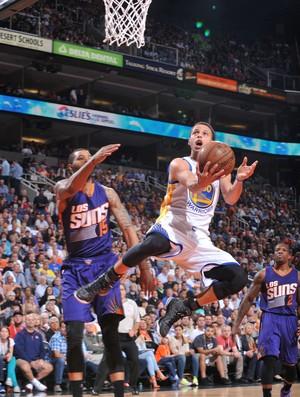 Stephen Curry Warriors x Suns NBA (Foto: Getty)