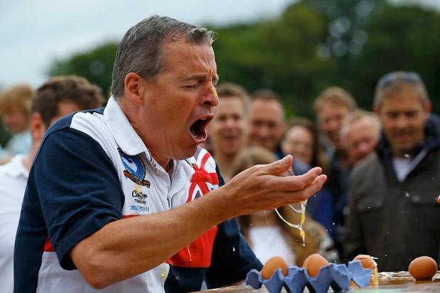 Competição ocorreu em Swaton, no Reino Unido (Foto: Darren Staples/Reuters)