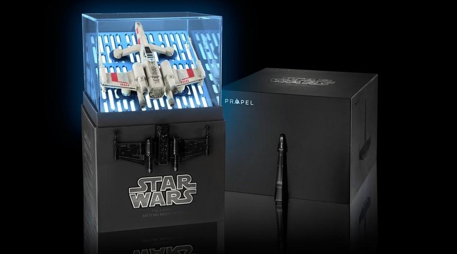 """Drone X-Wing da Propel: novos produtos de """"Star Wars"""" chegam ao mercado antes de novo filme (Foto: Divulgação)"""