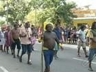 Em Parauapebas, índios participam de desfile no Dia da Independência