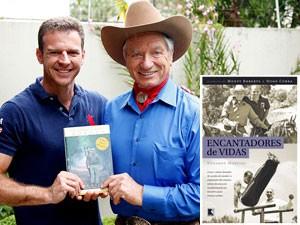 Após ler o livro de Roberts, 'O encantador de cavalos', Moreira acabou escrevendo seu próprio livro, 'Encantadores de vidas' (Foto: Arquivo pessoal/Divulgação)