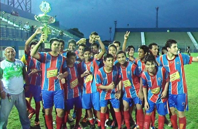 Fast Infantil campeão do primeiro turno 2014 (Foto: Lissandro Windson/FAF)