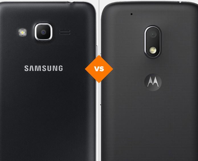 Galaxy J2 Prime ou Moto G 4 Play: confira qual celular se sai melhor no comparativo (Foto: Arte/TechTudo)