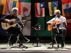 Caetano Veloso fala sobre indicação ao Grammy e se declara a Gilberto Gil