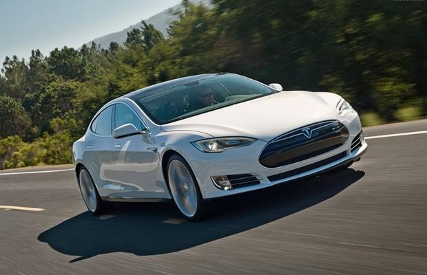 Tesla Model S (Foto: Divulgação)