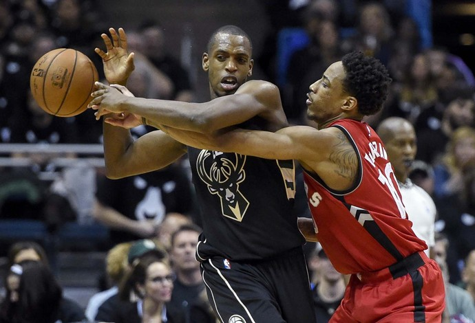 Milwaukee Bucks vs. Toronto Raptors NBA basquete (Foto: Reuters)