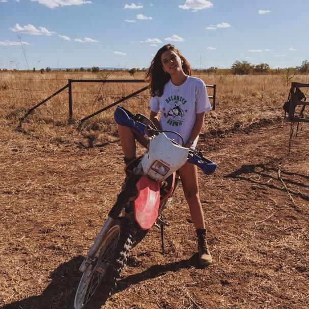 Mariana Goldfarb motoqueira (Foto: Arquivo Pessoal)