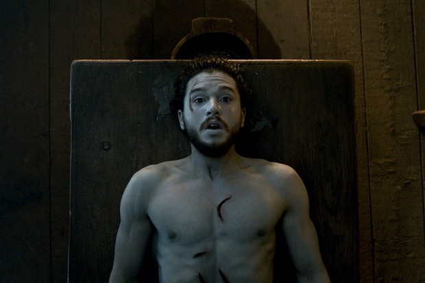 Jon Snow: bom dia, companheiro (Foto: Reprodução)
