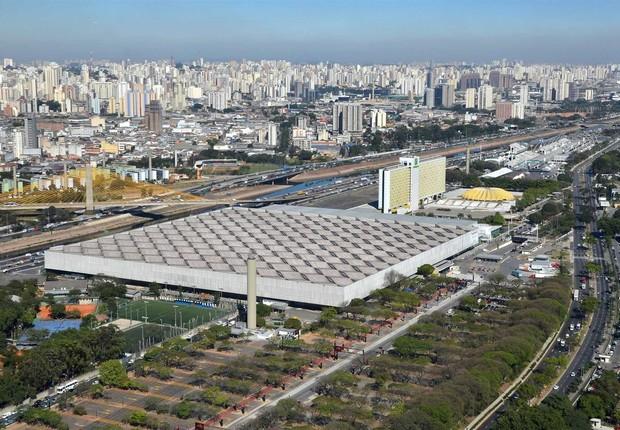 Complexo do Anhembi em São Paulo (Foto: Wikimedia Commons/Wikipedia)