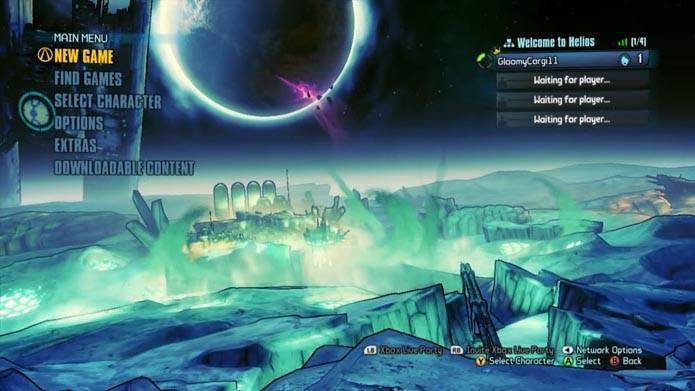 Borderlands: The Pre-Sequel: como criar e deletar personagens no game (Foto: Reprodução/Murilo Molina)