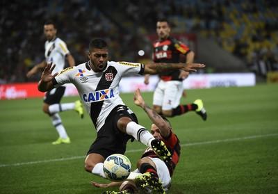 Flamengo x Vasco - lance de jogo (Foto: André Durão)