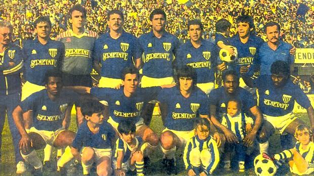 Avaí campeão catarinense 1988 (Foto: Divulgação / Avaí FC)