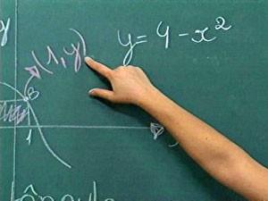 Aula de matemática (Foto: Reprodução/RBS TV)