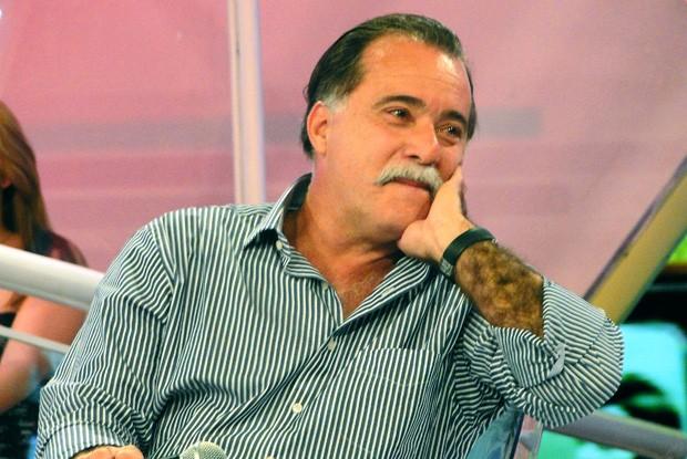 Tony Ramos se emociona com interpretação de Sandy (Foto: TV Xuxa / TV Globo)