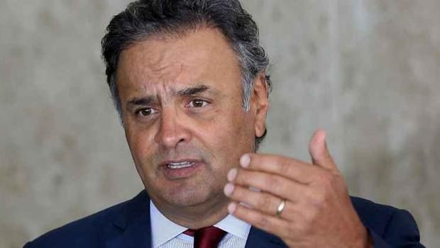 O senador Aécio Neves (PSDB-MG) (Foto: Valter Campanato/Agência Brasil)