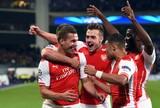 Arsenal x Anderlecht - Poolski comemora gol