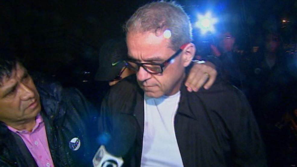 O ex-secretário de Educação de Ribeirão Preto, Ângelo Invernizzi, preso pela Polícia Federal (Foto: Reprodução/EPTV)