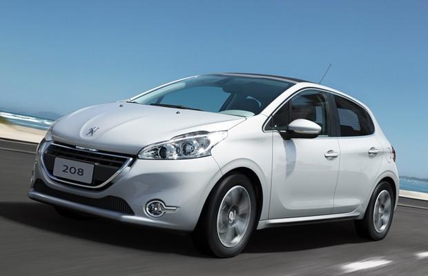 Peugeot 208 chega partindo de R$ 39.990 (Foto: Divulgação)