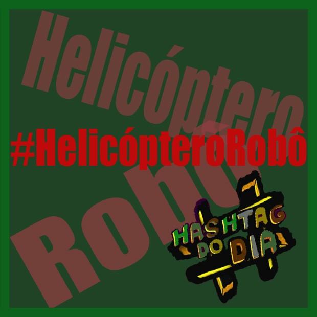 #HashtagDoDia: HelicópteroRobô (Foto: Malhação/ TV Globo)