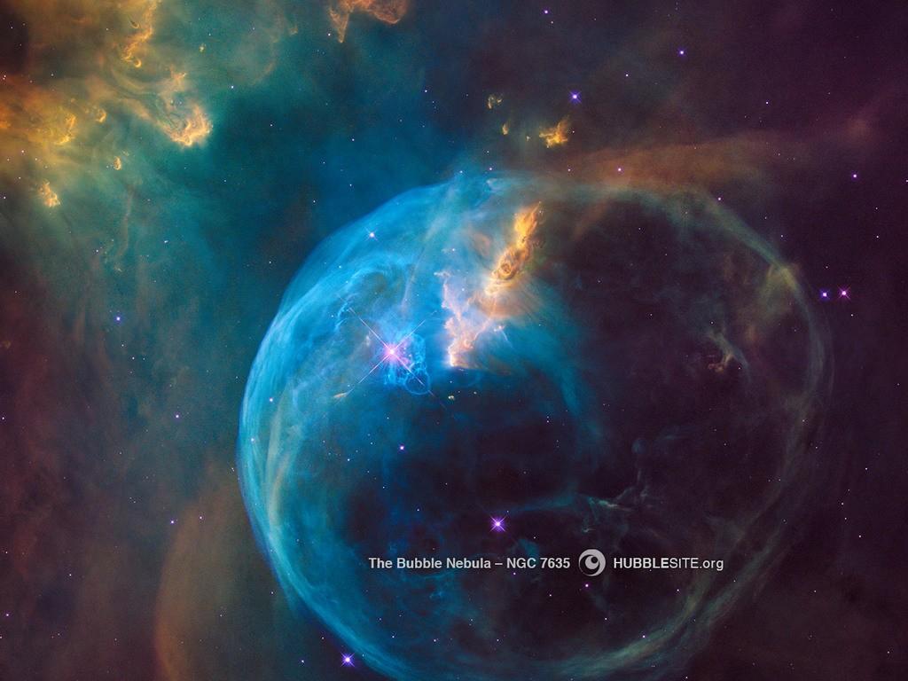 Nebulosa da Bolha (Foto: NASA, ESA, STScI/AURA)