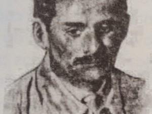 Capitão Sales Vila Nova, assassino do prefeito eleito de Garanhuns (Foto: Acervo pessoal/Cláudio Gonçalves)