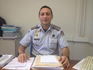 Tenente-coronel Wellington, prisão, PM, Amapá (Foto: Jéssica Alves/G1)
