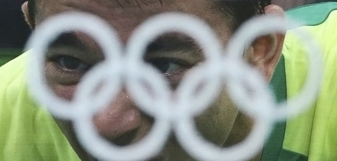 Hugo Calderano; tênis de mesa: Brasil; Olimpíadas (Foto: Alkis Konstantinidis/Reuters)