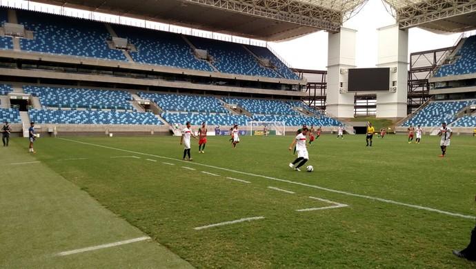 Operário Ltda, Ação, Arena Pantanal (Foto: Diogo Carvalho/ FMF)