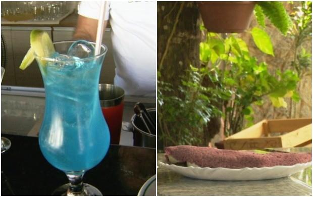 Aprenda receita de drinques e da tapioca colorida (Foto: Amazônia Revista)