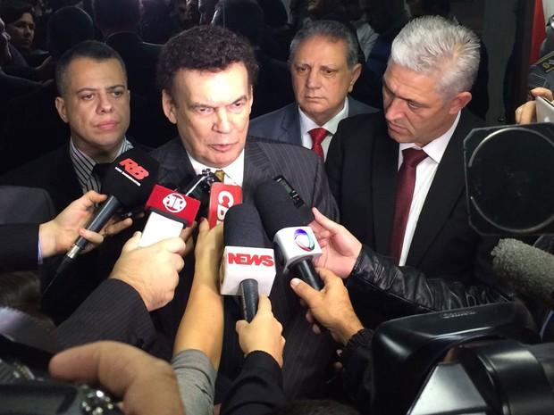 O deputado Campos Machado (PTB-SP) disse que o que aconteceu foi uma aberração (Foto: Livia Machado/G1)