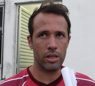 Gabriel, zagueiro do CRB (Foto: Denison Roma / GloboEsporte.com)