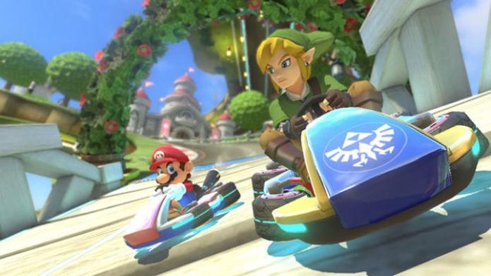 Mario Kart 8: DLCs trarão Link, F-Zero e novas pistas para o game (Foto: Divulgação)